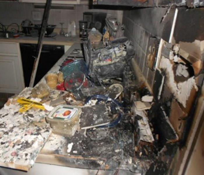 House Fire Damages Kitchen Before
