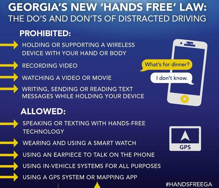 Community Georgia's Hands Free Law takes effect on July 1st