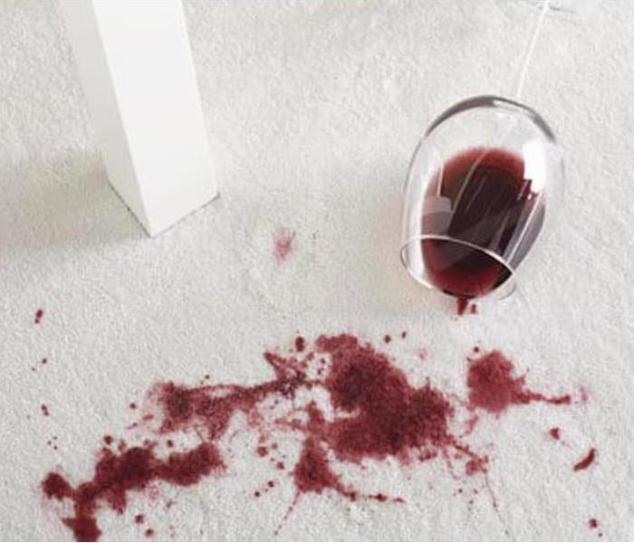 Tips To Clean A Red Wine Spill Servpro Of Henry And